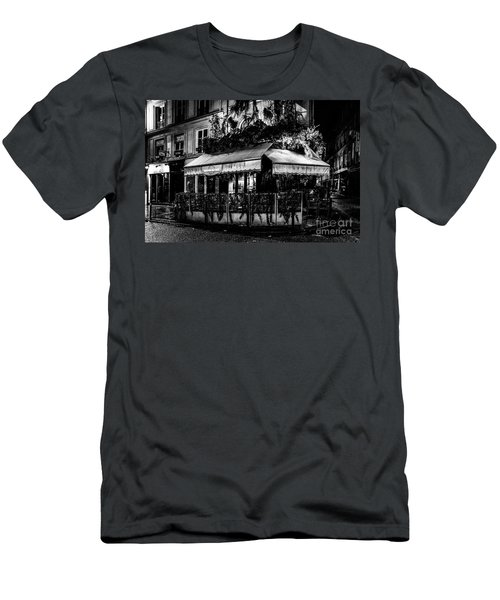 Paris At Night - Rue De Buci Men's T-Shirt (Athletic Fit)