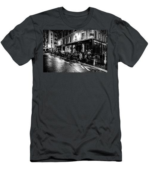 Paris At Night - Rue Jacob Men's T-Shirt (Athletic Fit)