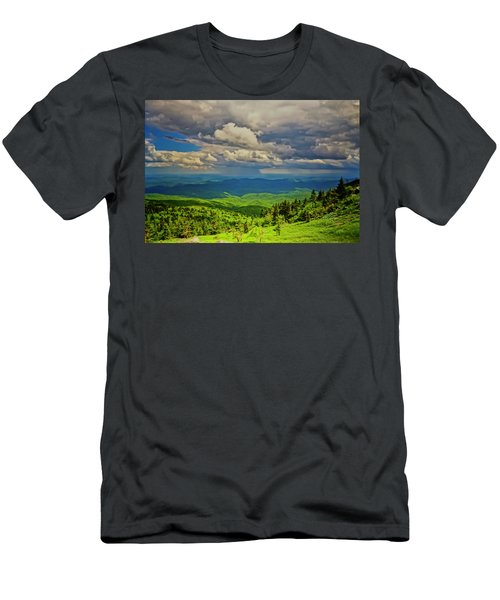 Men's T-Shirt (Athletic Fit) featuring the photograph Parkway View by Meta Gatschenberger