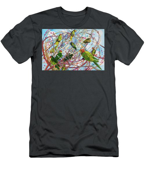 Parrot Bramble Men's T-Shirt (Athletic Fit)