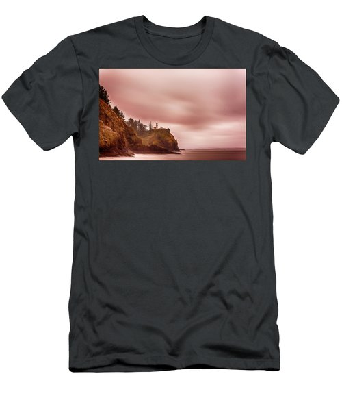 Pastel Seascape Men's T-Shirt (Athletic Fit)