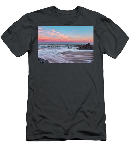 Pastel Sunrise Men's T-Shirt (Athletic Fit)