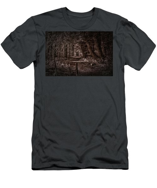 Path In Forest #i0 Men's T-Shirt (Athletic Fit)
