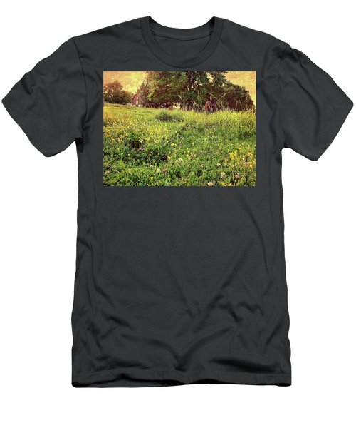 Peaceful Pastoral Perspective Men's T-Shirt (Athletic Fit)