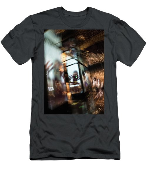 Men's T-Shirt (Athletic Fit) featuring the photograph Peering Through by Alex Lapidus