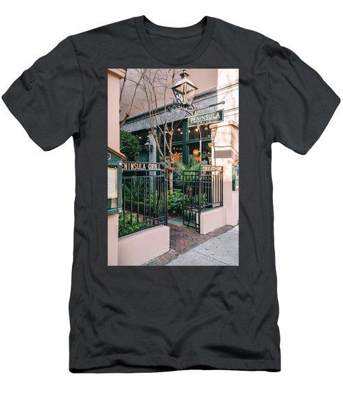 Peninsula Grill Men's T-Shirt (Athletic Fit)