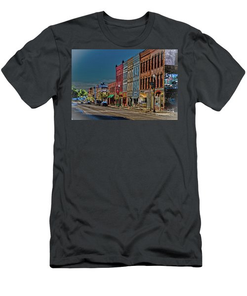 Men's T-Shirt (Athletic Fit) featuring the photograph Penn Yan by William Norton