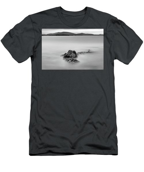 Men's T-Shirt (Athletic Fit) featuring the photograph Penobscot Bay Tranquility by Rick Berk