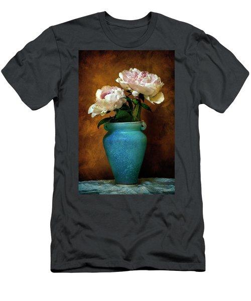 Peonies In Spring Men's T-Shirt (Athletic Fit)