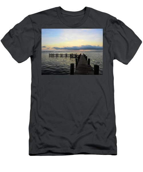 Pier Into Morning Men's T-Shirt (Athletic Fit)