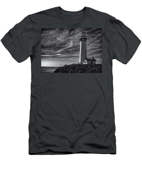 Pigeon Point Light Station Men's T-Shirt (Athletic Fit)