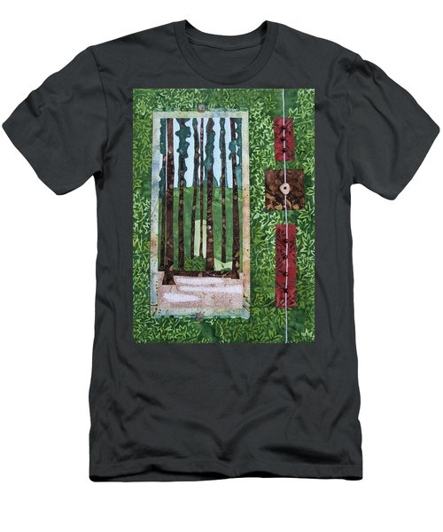 Pine Forest Tall Men's T-Shirt (Athletic Fit)