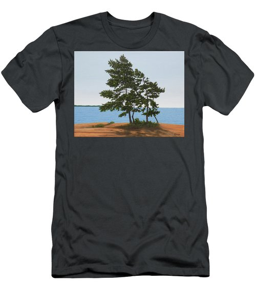 Pine On The Point Men's T-Shirt (Athletic Fit)