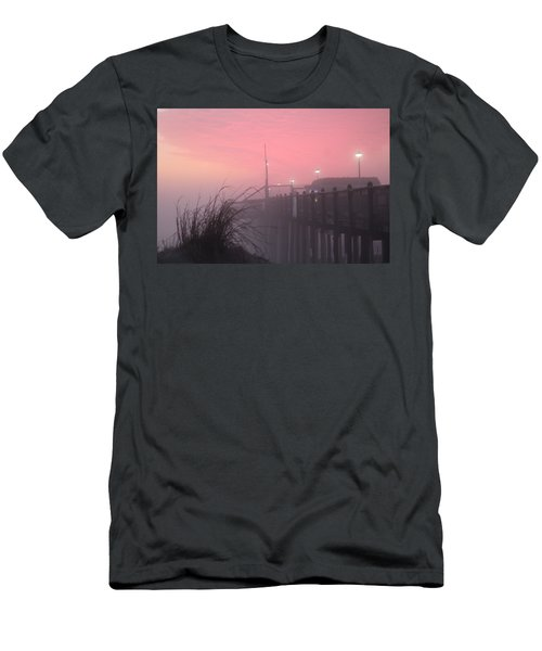 Pink Fog At Dawn Men's T-Shirt (Athletic Fit)