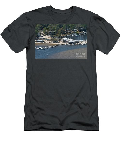 Pirates Cove - Natural Men's T-Shirt (Athletic Fit)