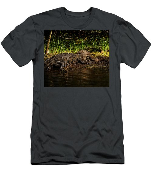 Playing In The Mud Men's T-Shirt (Athletic Fit)