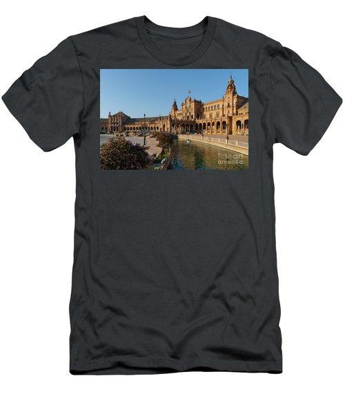 Plaza De Espana Bridge View Men's T-Shirt (Athletic Fit)