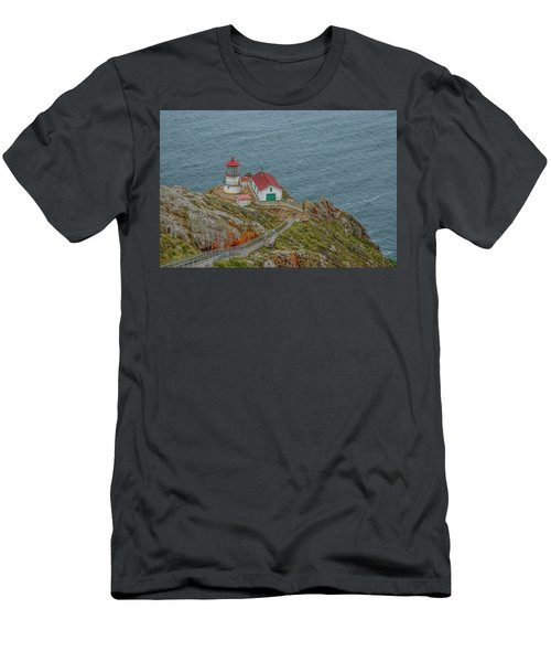 Point Reyes Lighthouse Men's T-Shirt (Athletic Fit)