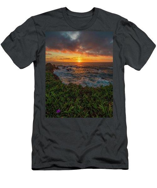 Pomo Bluffs Sunset - 2 Men's T-Shirt (Athletic Fit)