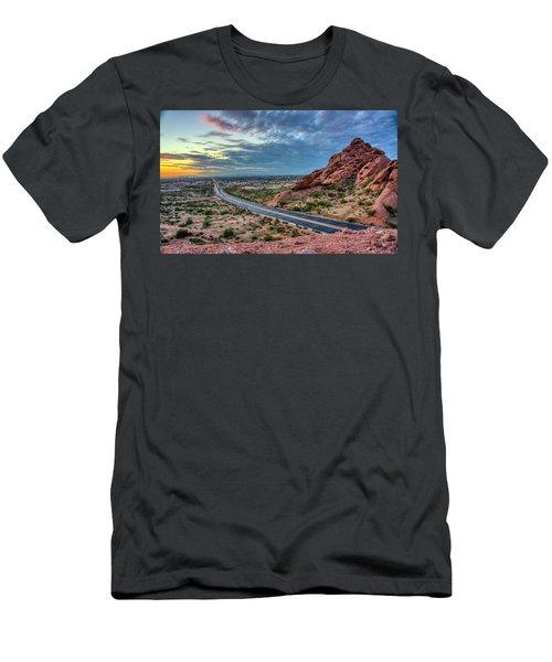 Popago Park Views  Men's T-Shirt (Athletic Fit)