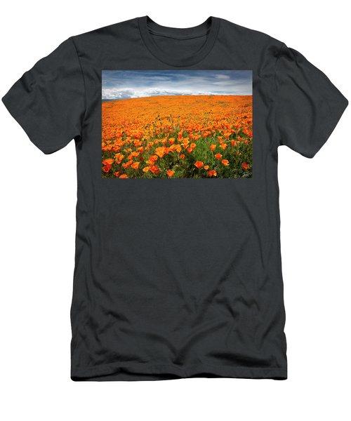 Poppy Fields Forever Men's T-Shirt (Athletic Fit)