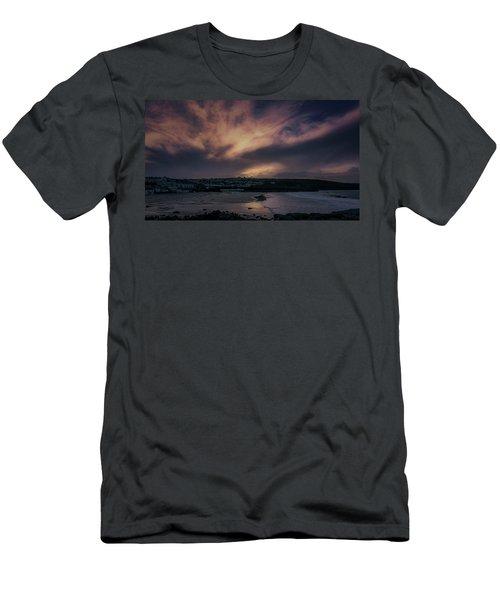 Porthmeor Sunset 4 Men's T-Shirt (Athletic Fit)