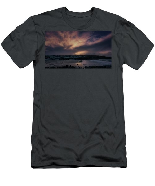 Porthmeor Sunset 4 Men's T-Shirt (Athletic Fit)