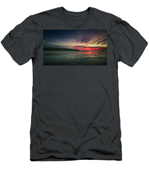 Porthmeor Sunset Version 2 Men's T-Shirt (Athletic Fit)