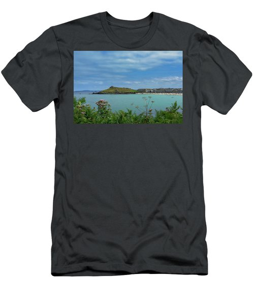 Porthmeor View On The Island Men's T-Shirt (Athletic Fit)