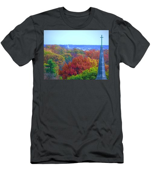 Men's T-Shirt (Athletic Fit) featuring the photograph Power And Glory by Don Moore