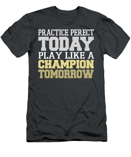 Practice Perfect Men's T-Shirt (Athletic Fit)