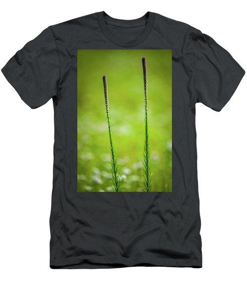 Prairie Blazing Star Men's T-Shirt (Athletic Fit)