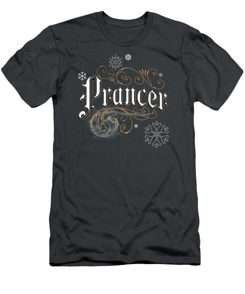 Prancer Men's T-Shirt (Athletic Fit)