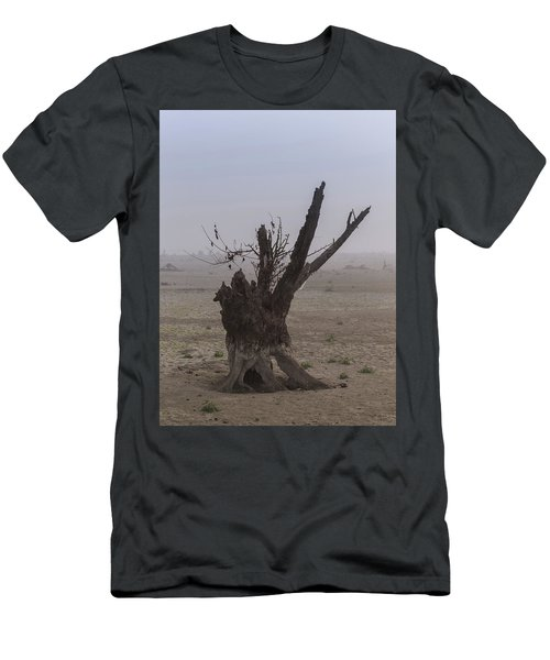 Men's T-Shirt (Athletic Fit) featuring the photograph Prayer Of The Ent by Davor Zerjav
