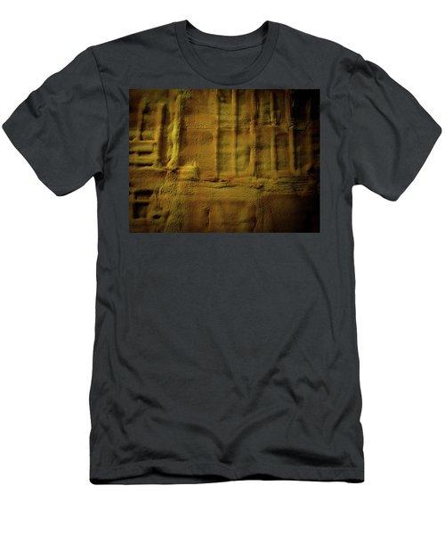 Prehistoric Scene Men's T-Shirt (Athletic Fit)