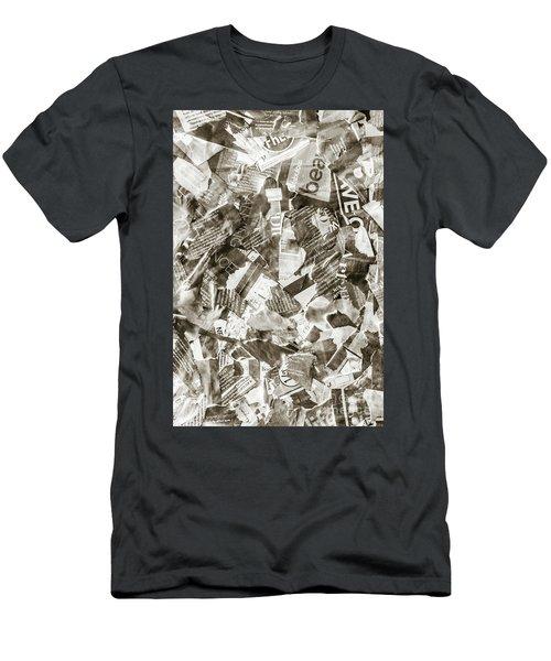 Press Print Parchment Men's T-Shirt (Athletic Fit)