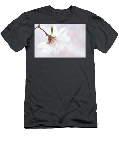Pretty In Pastel Star Magnolia Men's T-Shirt (Athletic Fit)