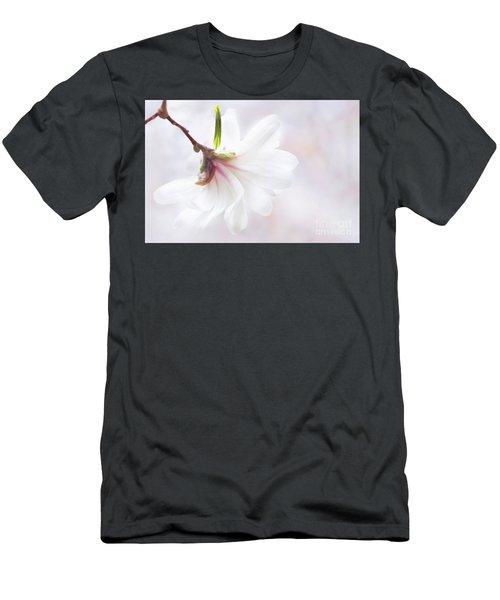 Pretty In Pastel Star Magnolia Men's T-Shirt (Athletic Fit)