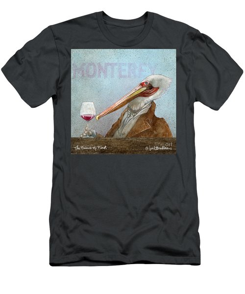 Prince Of Pinot, The Men's T-Shirt (Athletic Fit)