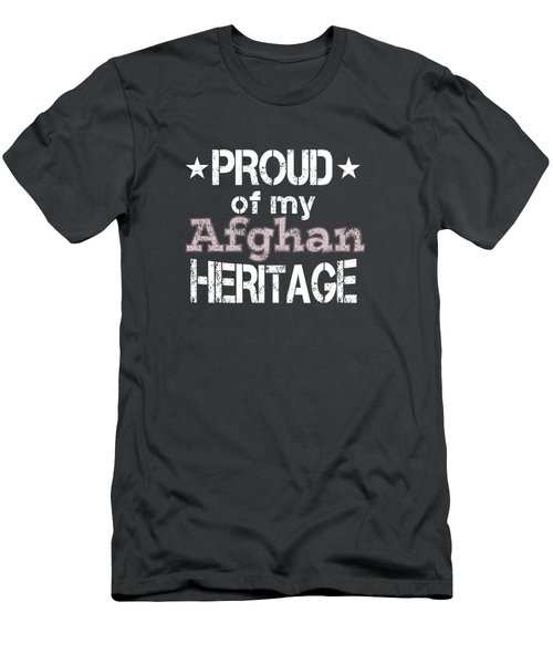 Proud Of My Afghan Heritage Men's T-Shirt (Athletic Fit)