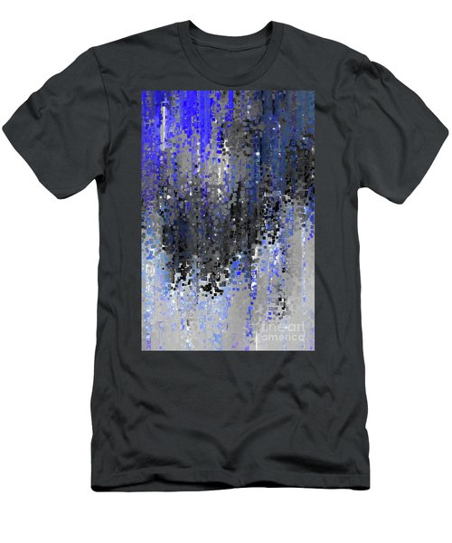 Men's T-Shirt (Athletic Fit) featuring the painting Psalm 33 18. Hope In His Mercy by Mark Lawrence