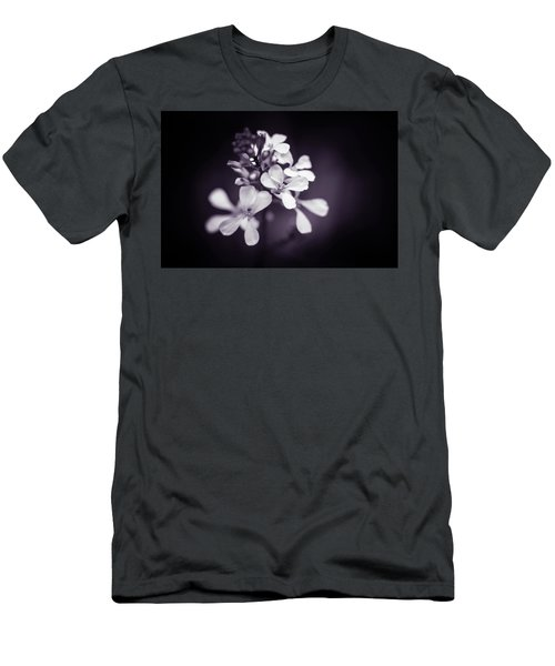 Men's T-Shirt (Athletic Fit) featuring the photograph Purple Tears by Michelle Wermuth
