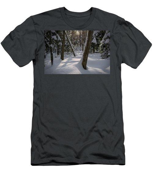 Quiet Men's T-Shirt (Athletic Fit)