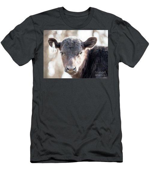 R181 Cow Men's T-Shirt (Athletic Fit)