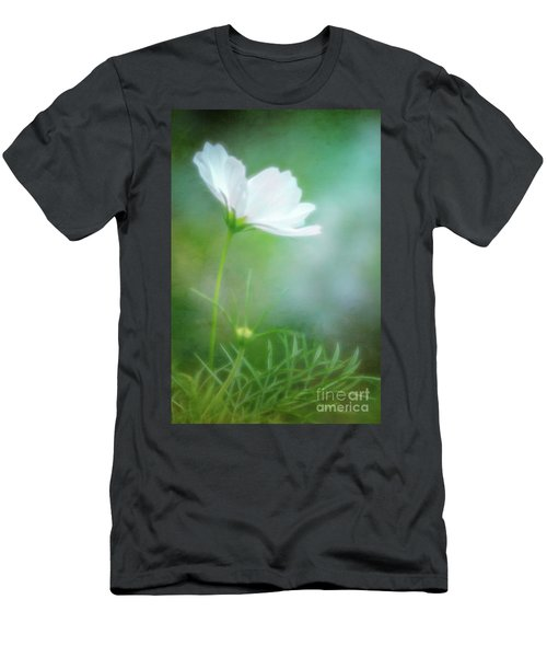 Radiant White Cosmos In The Evening Light Men's T-Shirt (Athletic Fit)