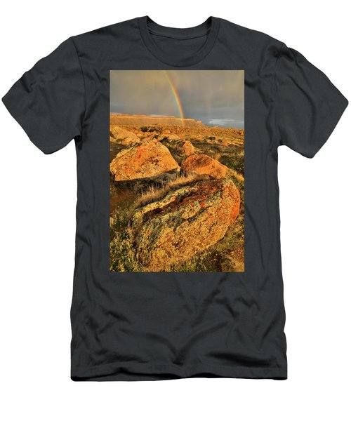 Rainbow Over The Book Cliffs Men's T-Shirt (Athletic Fit)