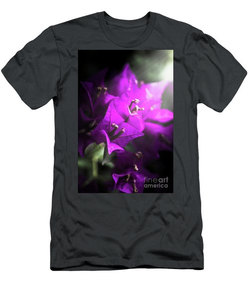 Rays Of Bougainvillea Men's T-Shirt (Athletic Fit)