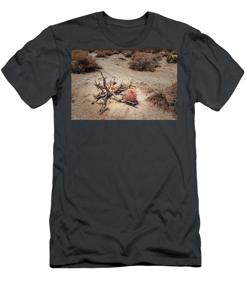 Red Barrel Cactus Men's T-Shirt (Athletic Fit)