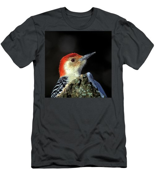 Men's T-Shirt (Athletic Fit) featuring the photograph Red Bellied Woodpecker by Jeff Phillippi