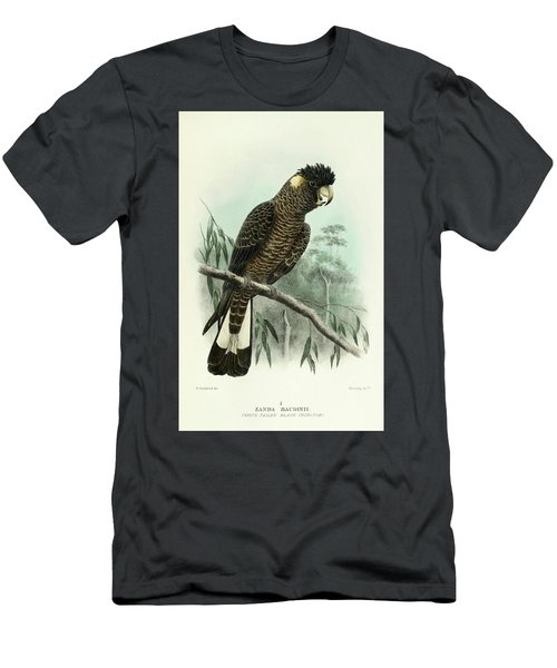 Red-tailed Black Cockatoo Men's T-Shirt (Athletic Fit)